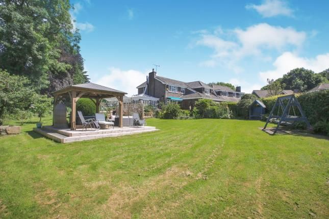 Thumbnail Detached house for sale in Lincombe Hey, Prestbury, Macclesfield, Cheshire