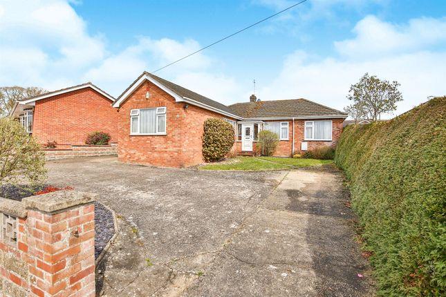 Thumbnail Detached bungalow for sale in Victoria Road, Taverham, Norwich