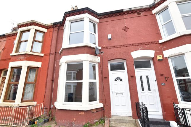 Terraced house for sale in Lugard Road, Aigburth, Liverpool