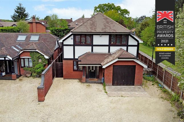 Thumbnail Detached house for sale in Abberton Way, Coventry