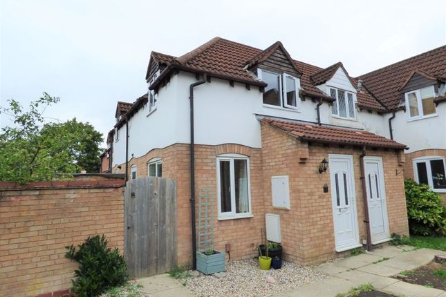 Thumbnail Terraced house for sale in Mill Grove, Quedgeley, Gloucester