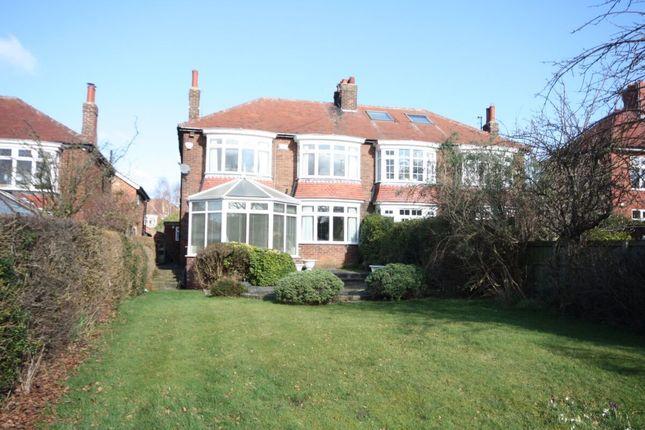 Thumbnail Semi-detached house for sale in West End, Guisborough