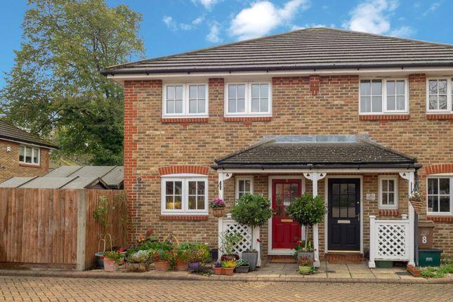 Thumbnail Semi-detached house for sale in Greenacre Place, Hackbridge, Wallington