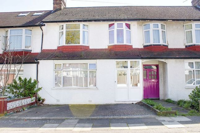 Thumbnail Terraced house for sale in Lawrence Avenue, Palmers Green