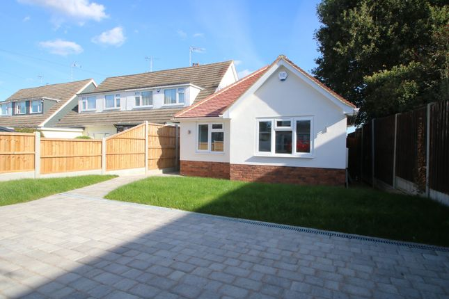 Thumbnail Detached bungalow for sale in Bosworth Close, Hawkwell, Hockley