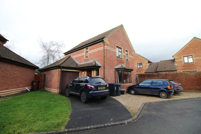 Thumbnail Detached house to rent in Escott Close, Chippenham