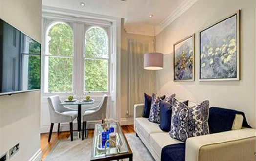 Thumbnail Flat to rent in Kensington Gardens Square, Westminister