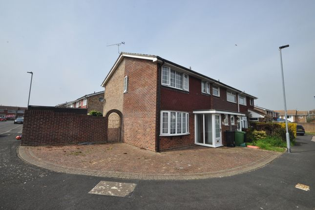Thumbnail Semi-detached house to rent in Revenge Close, Southsea