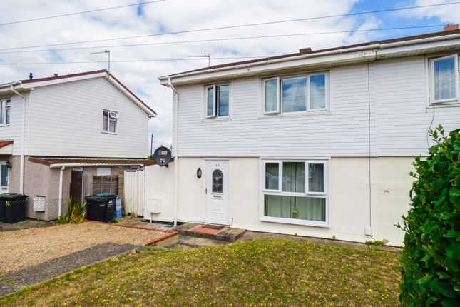 Thumbnail Semi-detached house for sale in Bourne Road, Gravesend, Kent