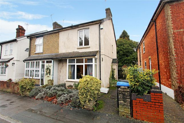Thumbnail Semi-detached house for sale in Station Road, West Byfleet