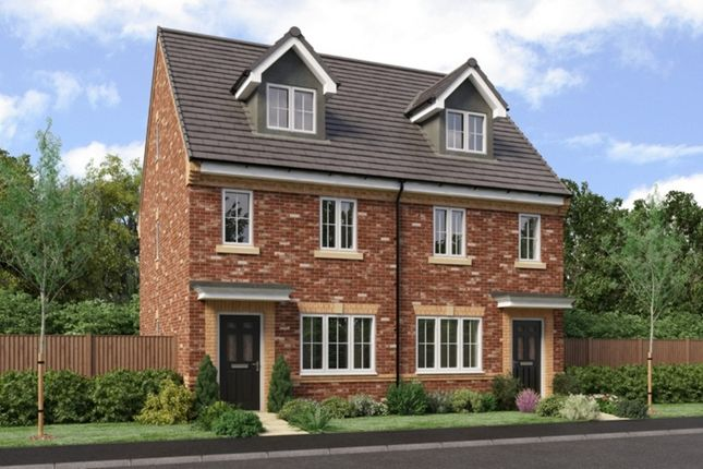 Thumbnail Semi-detached house for sale in The Landings, Coppull, Chorley, Lancashire