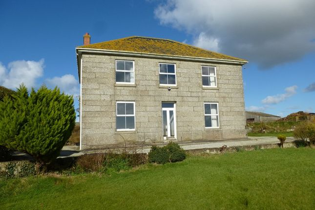 Thumbnail Detached house for sale in St. Levan, Penzance