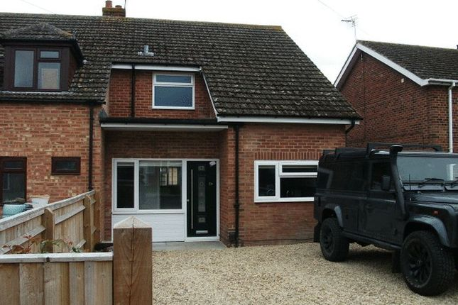 Thumbnail Semi-detached house to rent in Freeman Road, Didcot