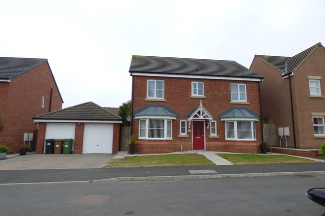Thumbnail Detached house for sale in Carnoustie Close, Ashington
