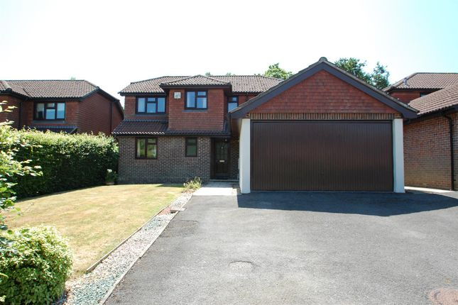 Thumbnail Detached house for sale in Willowdale Close, Petersfield