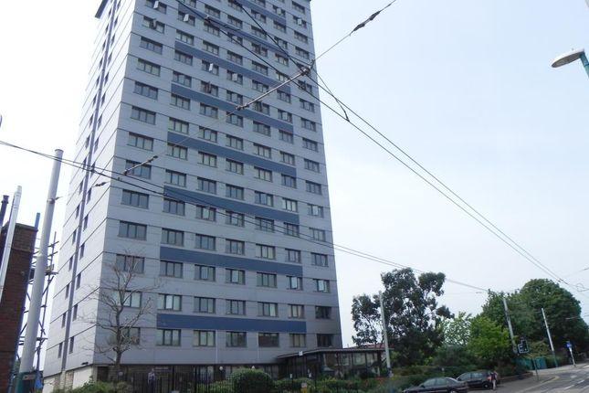External of High Point, Noel Street, Nottingham NG7