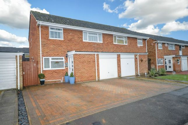 Thumbnail Semi-detached house for sale in Haynes Close, Swindon