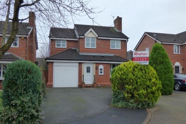 Thumbnail Detached house to rent in Marwood Close, Altrincham