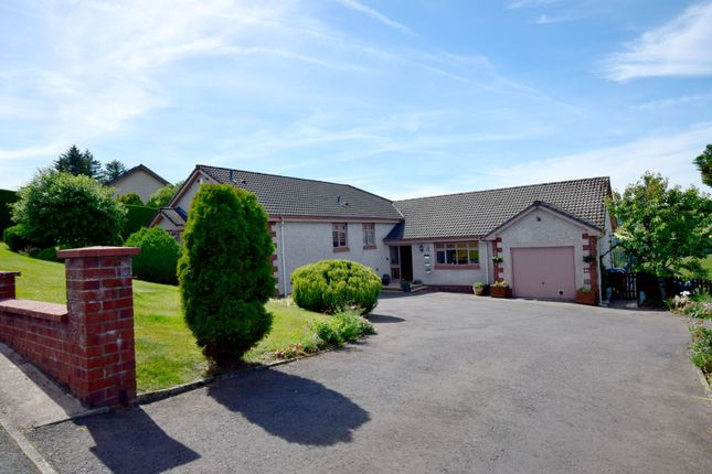 Thumbnail Detached bungalow for sale in 3 Crumelknowes, Hawick