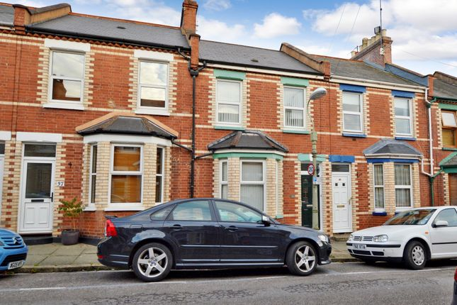 2 bed terraced house to rent in Baker Street, Exeter