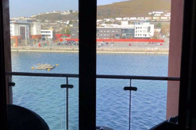 Thumbnail Flat for sale in South Quay, Kings Road, Marina, Swansea