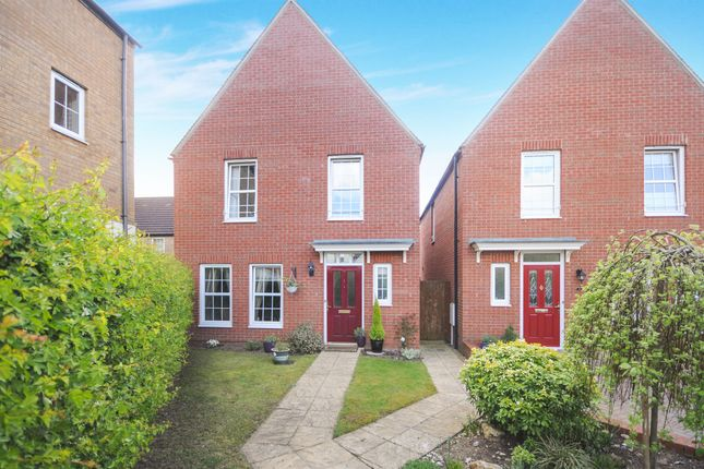 Thumbnail Detached house for sale in Hazel Covert, Thetford