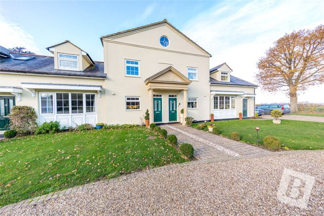 3 bed terraced house for sale in The Coach House, Forest Lane, High Ongar, Essex CM5