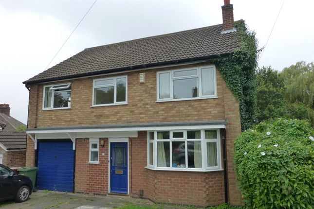 Thumbnail Detached house to rent in Palmerston Road, Melton Mowbray