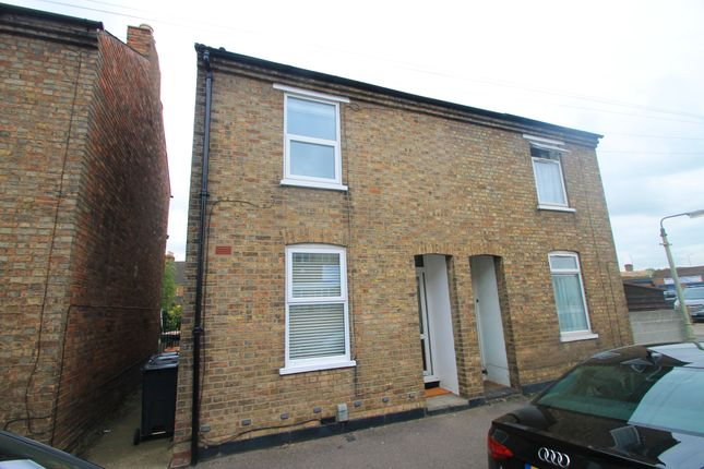 Thumbnail Terraced house to rent in Dean Street, Bedford