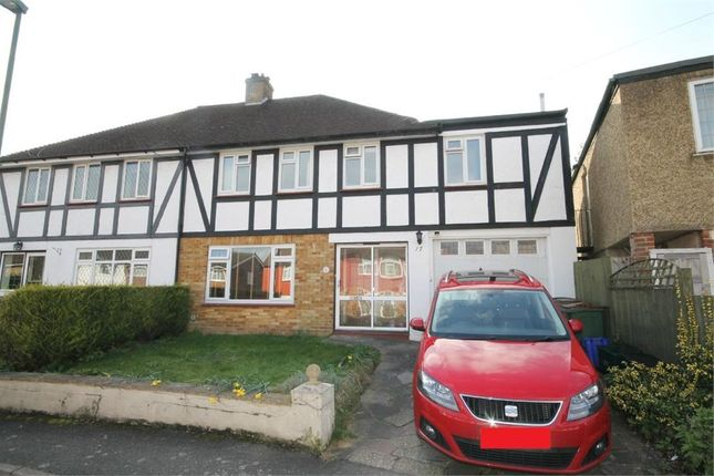 Thumbnail Semi-detached house for sale in Gauntlett Road, Sutton
