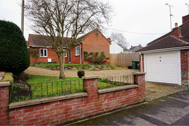 Thumbnail Detached bungalow for sale in Fore Street, Warminster
