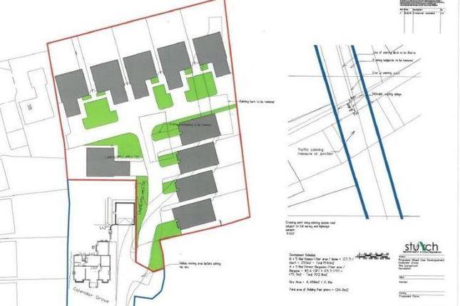 Thumbnail Land for sale in 0.4 Hectares Of Land, Calendar Grove, Calendar Grove, The Long Shoot, Nuneaton