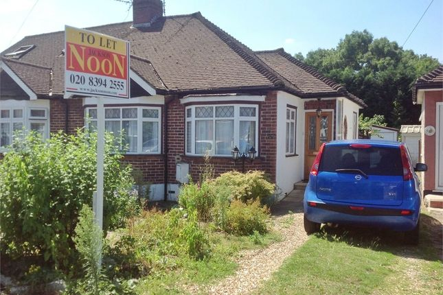 Thumbnail Semi-detached bungalow to rent in Lakehurst Road, Ewell, Epsom