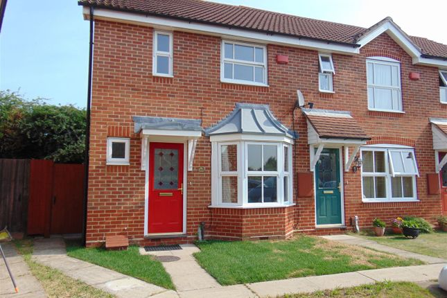 Thumbnail End terrace house to rent in Lilley Way, Cippenham, Slough