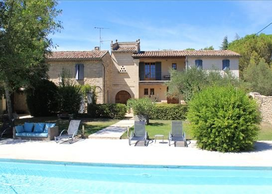 Thumbnail Farmhouse for sale in 30700 Uzès, France
