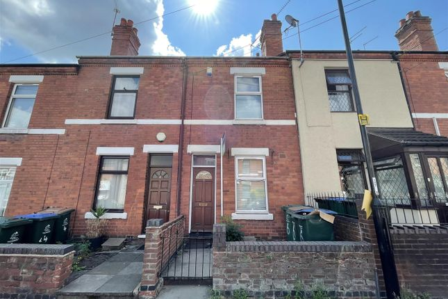 Terraced house for sale in Broomfield Road, Earlsdon, Coventry