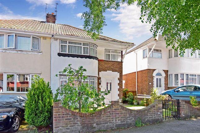 Thumbnail Semi-detached house for sale in Hawthorne Avenue, Rainham, Gillingham, Kent