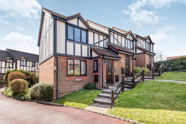 Thumbnail End terrace house for sale in Windlesham, Surrey, United Kingdom