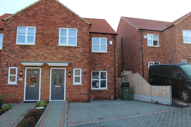 "Thumbnail Semi-detached house to rent in Apple Tree Lane ""The Mulberries"", Laceby Near Grimsby"