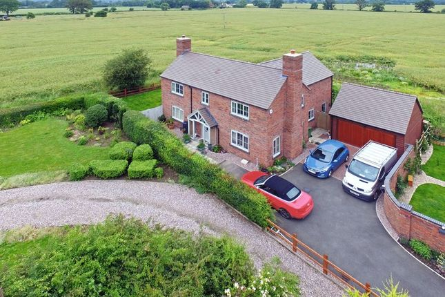 Thumbnail Detached house for sale in Meadow Place, Rodington, Shrewsbury
