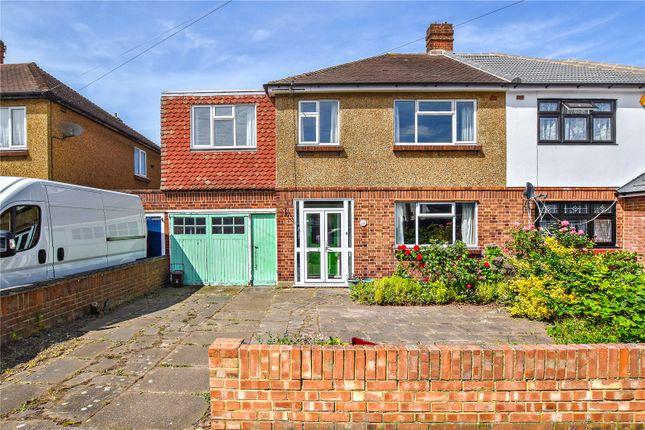 Thumbnail Semi-detached house for sale in Brunswick Road, Bexleyheath, Kent