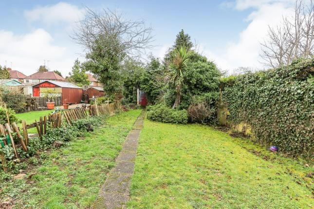Garden of Clay Lane, South Yardley, West Midlands, Birmingham B26