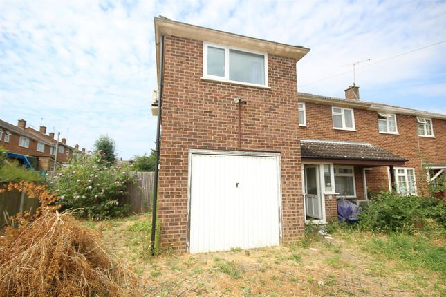 Thumbnail Semi-detached house for sale in Lambourne Drive, Hutton, Brentwood
