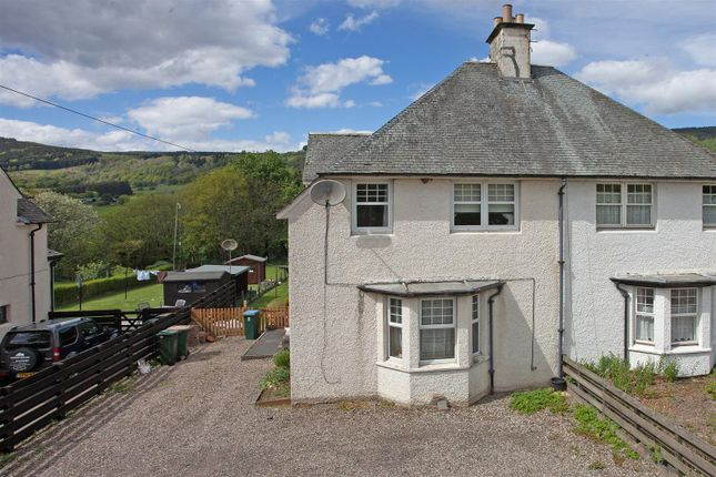 Thumbnail Semi-detached house for sale in Aberfeldy