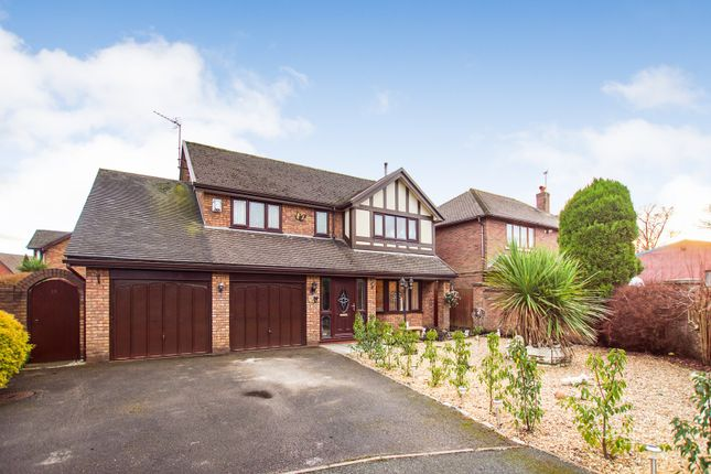 Thumbnail Detached house for sale in Bristow Close, Warrington