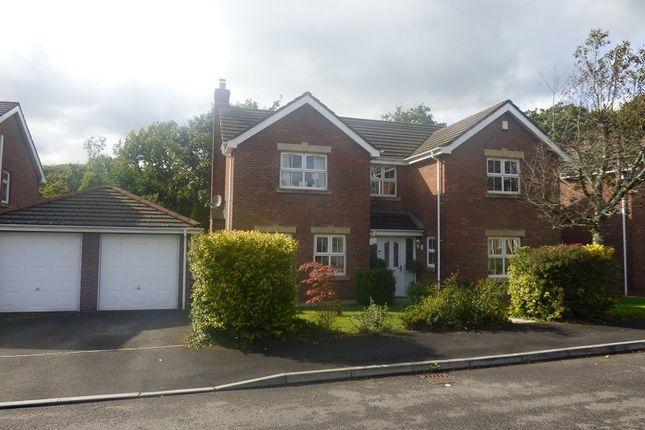 Thumbnail Detached house for sale in Dyffryn Woods, Bryncoch, Neath.