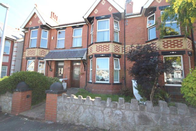 Thumbnail Terraced house for sale in Canning Road, Colwyn Bay