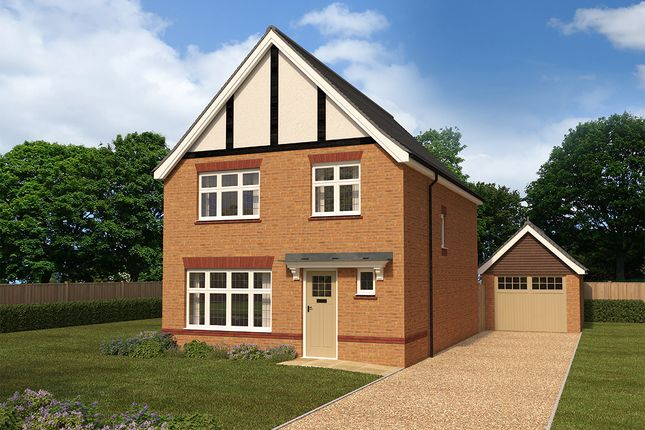 "Thumbnail Detached house for sale in ""Warwick"" at Heol Rufus, Radyr, Cardiff"