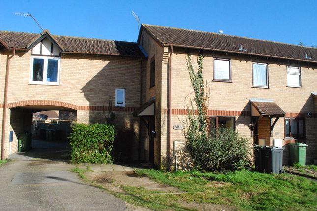 Thumbnail Terraced house to rent in Thyme Close, Thetford, Norfolk