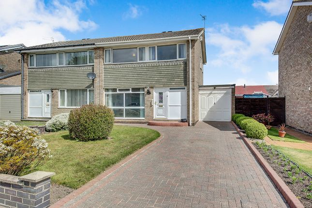 Thumbnail Semi-detached house for sale in Cateran Way, Cramlington